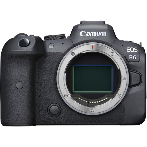 Купить - Canon Фотоаппарат Canon EOS R6 body (4082C044) (Официальная гарантия)