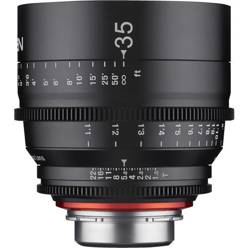 Купить - Samyang Samyang XEEN 35mm T1.5 FF CINE Canon EF Mount (F1511001101)