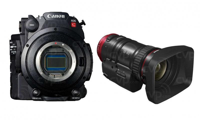 Купить - Canon Canon C200 + CN-E 18-80+ RECORDER ATOMOS NINJA V and Cfast 256GB card