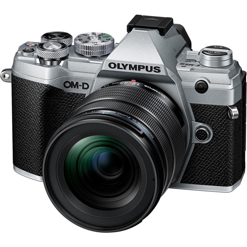 Купить - Olympus Olympus E-M5 Mark III 12-45mm PRO Kit Silver/Black (V207092SE000)