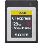Фото - Sony Карта пам'яті Sony 128GB CFexpress Tough G Type B R1700/W1480MB/s (CEBG128.SYM)