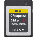 Фото - Sony Карта пам'яті Sony 256GB CFexpress Tough G Type B R1700/W1480MB/s (CEBG256.SYM)