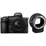 Фото - Nikon Фотоаппарат Nikon Z5 kit + NIKKOR Z 24-50mm + FTZ (VOA040K003)