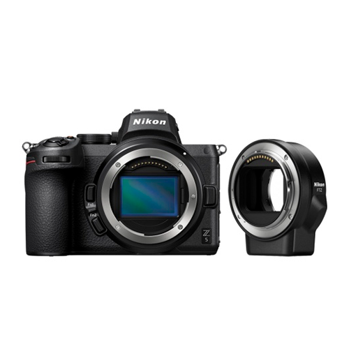 Купить - Nikon Фотоаппарат Nikon Z5 + FTZ adapter (VOA040K002)