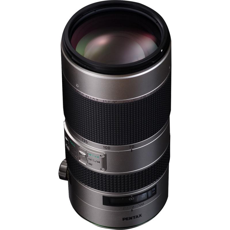 Купить - Pentax HD PENTAX-D FA★ 70-200 mm F/2.8 ED DC AW Silver Edition (S0023330)