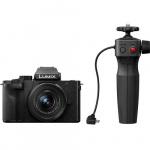 Фото - Panasonic Фотоаппарат Panasonic DC-G100 Kit 12-32mm Black + рукоятка штатив (DC-G100VEE-K)