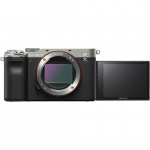 Фото Sony Фотоаппарат Sony Alpha a7C Body Silver (ILCE7CS.CEC)