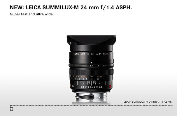 Купить -  LEICA SUMMILUX-M 24 mm f/1.4 ASPH.