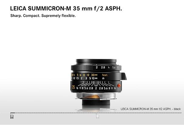 Купить -  LEICA SUMMICRON-M 35 mm f/2 ASPH.