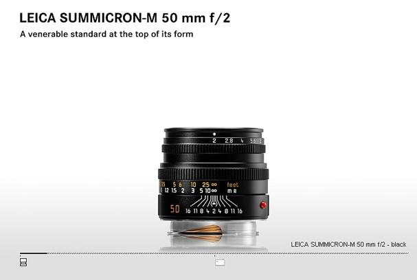 Купить -  LEICA SUMMICRON-M 50 mm f/2
