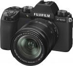 Фото - Fujifilm Фотоаппарат Fujifilm X-S10 + XF 18-55mm F2.8-4.0 Kit Black (16674308)