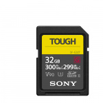 Фото - Sony Карта памяти Sony SDHC 32GB Class 10 UHS-II U3 V90 R300/W299MB/s Tough (SF32TG)