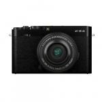 Фото - Fujifilm Фотоаппарат Fujifilm X-E4 + 27mm f/2.8 WR Black