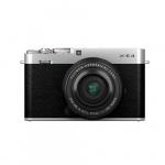 Фото - Fujifilm Фотоаппарат Fujifilm X-E4 + 27mm f/2.8 WR Silver