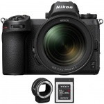 Фото - Nikon Фотоаппарат Nikon Z7 + 24-70mm f/4 + FTZ Mount Adapter + 64GB XQD (VOA010K008)