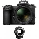 Фото - Nikon Фотоаппарат Nikon Z6 II + 24-70 f4 + FTZ Adapter Kit