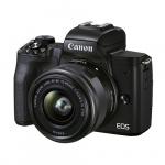 Фото - Canon Фотоаппарат Canon EOS M50 Mk2 + 15-45 IS STM Lifestream Kit Black (4728C059)