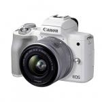 Фото - Canon Фотоаппарат Canon EOS M50 MK II WH M15-45 S RUK/SEE (4729C028)