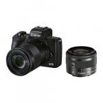 Фото - Canon Фотоаппарат Canon EOS M50 II BK M1545S+55200 (4728C041)