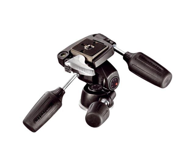 Купить -  Трёхплоскостная головка Manfrotto 804RC2 3-Way Pan/Tilt Head 200PL QR Plate (804RC2)